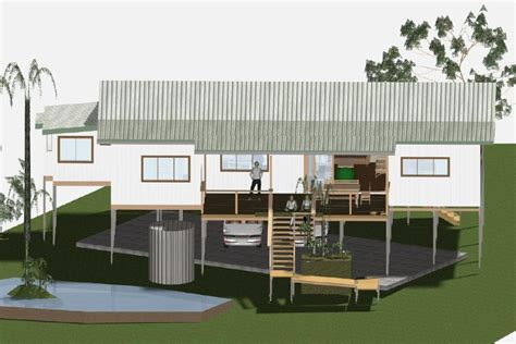 house design queenslander plans indoors out modern queenslander brisbane ecoliving design