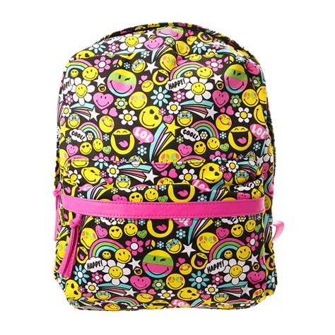 Smiley Backpack smiley emoji backpack s