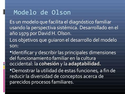 la perspectiva sistmica en terapia familiar conceptos modelo circumplejo