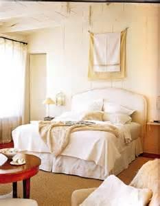 Gold Drapes Panels Cream Bedroom Design Ideas