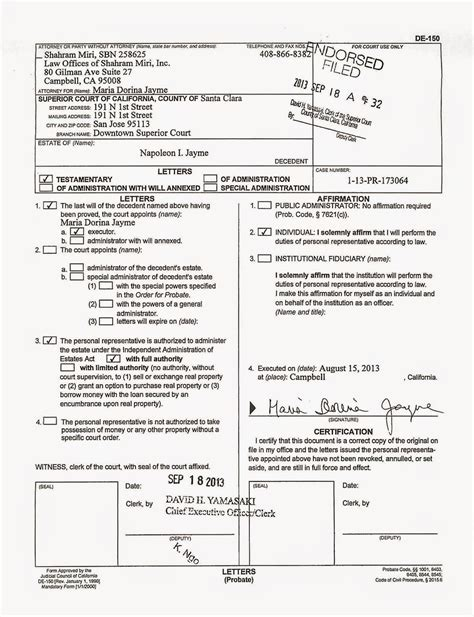 Dissolution Of Marriage California Records 100 Form B Petition For Dissolution Of Marriage