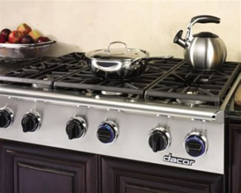 Dacor 36 Inch Gas Cooktop - dacor discovery 36 gas cooktop nw appliance center