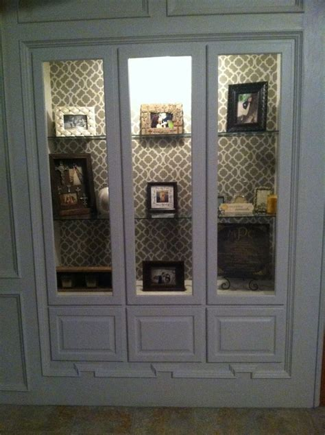 curio cabinet glass shelves built in gun cabinet i turned into a curio type cabinet