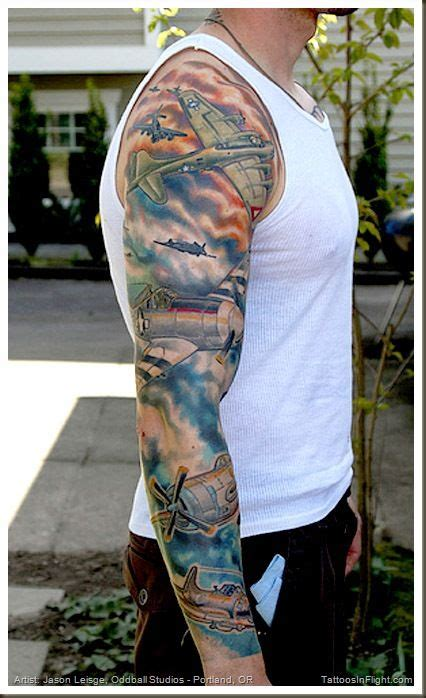 war sleeve tattoo designs world war ii designs republic p 47 thunderbolt