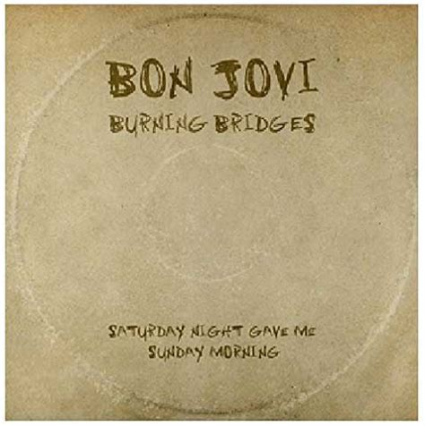 Cd Album Bon Jovi Burning Bridges bon jovi burning bridges tracklist album nuove canzoni