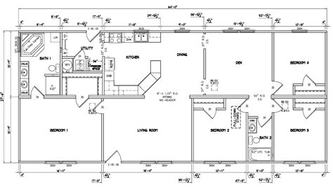 the evolution vr41764c manufactured home floor plan or 5 bedroom 3 bath modular home floor plans