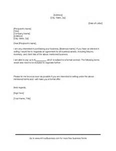 Business Offer Letter Sle Purchasing A Business Business Purchase Letter Hashdoc