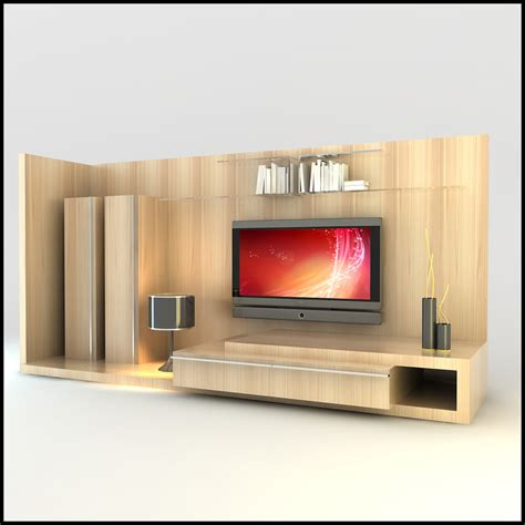 Modern Tv Wall Units by Modern Tv Wall Unit Obj
