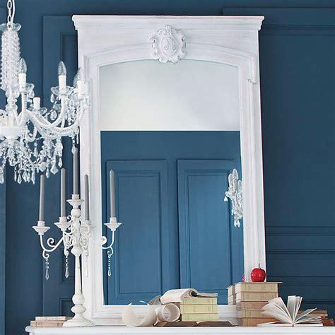 Miroir Trumeau En Bois Blanc H 160 Cm Jos 201 Phine Maisons