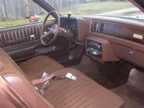 Monte Carlo Interior by 1983 Chevrolet Monte Carlo Sport Coupe 48919