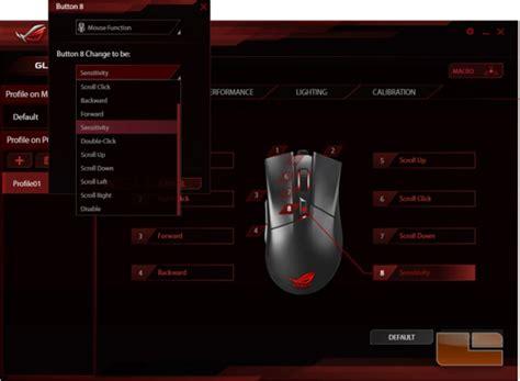 Mouse Macro Asus asus rog gladius gaming mouse review page 3 of 4 legit