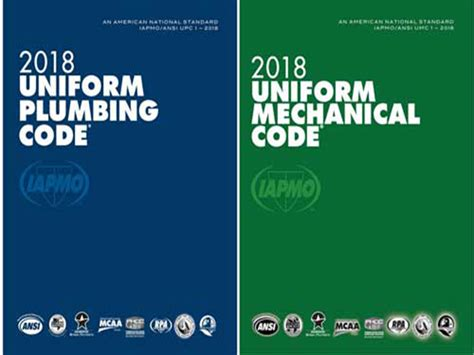 Iapmo Plumbing Code by Iapmo Standards Council To Hear Appeals To 2018 Upc And