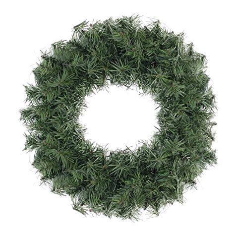 12 quot mini canadian pine artificial christmas wreath unlit
