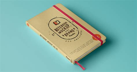 notebook template psd classic notebook mockup psd file