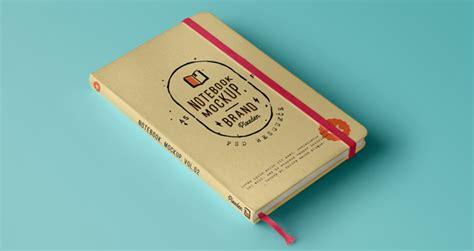 Classic Psd Notebook Mockup Vol2   Psd Mock Up Templates