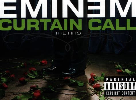 eminem curtain copertina cd eminem curtain call the hits inside