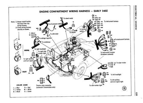 280z datsun car wiring diagrams wiring diagram schemes