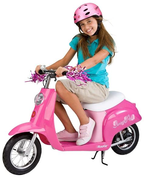 razor electric scooter for 10 year old girls take off on razor pocket mod mini electric scooters