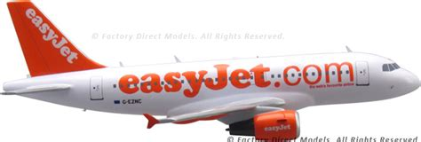 Easyjet Gift Card - airbus a319 easyjet wooden airplane model