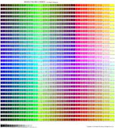 rgb color table complete rgb color chart flickr photo