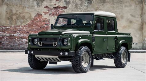 kahn land rover defender double cab land rover defender 2 2 tdci 110 double cab pick up