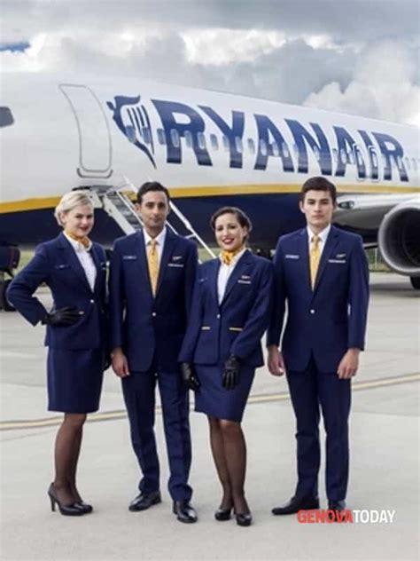 ryanair cabin crew annunci lavoro selezioni per personale ryanair a genova