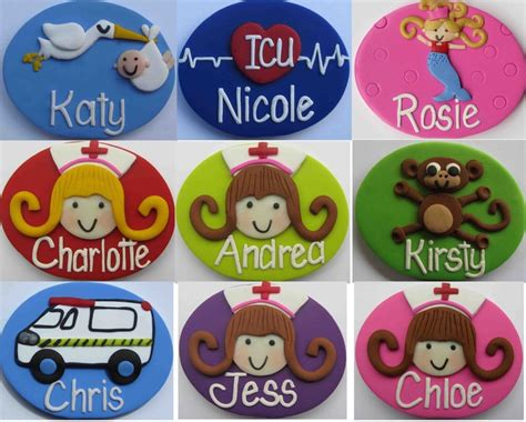 Handmade Name Badges - handmade name badges made to order 150 designs 24