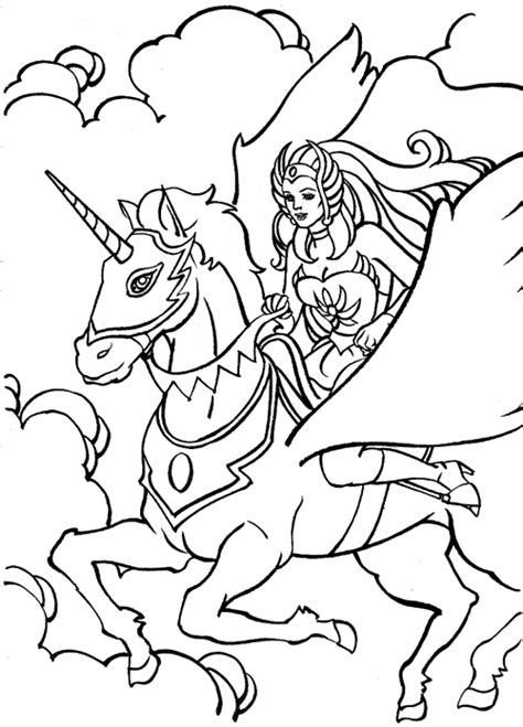 she ra coloring pages learn to coloring