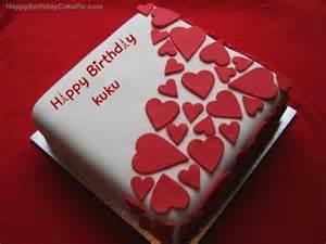birthday wish beautiful cake for kuku