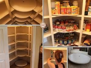 lazy susan storage organized