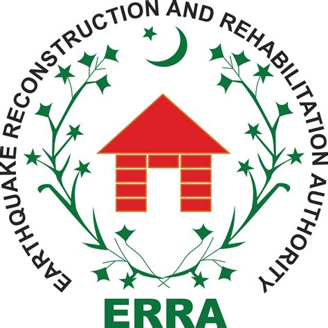 earthquake logo earthquake reconstruction and rehabilitation authority