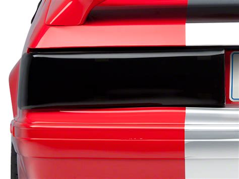 93 mustang lights speedform mustang smoked taillight covers 80109 87 93 gt