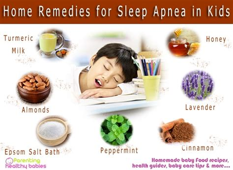 home remedies to treat sleep apnea in