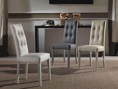 sedie a sedia imbottita con schienale capitonn 233 per alberghi e