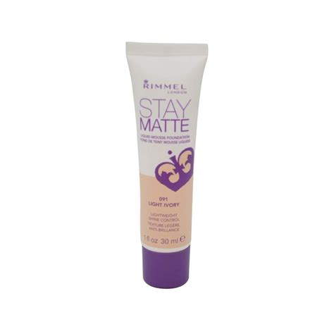Rimmel Stay Matte Foundation rimmel stay matte liquid mousse foundation 30ml