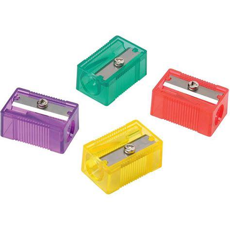 a sharpener pencil sharpener plastic anti ter 1 assorted