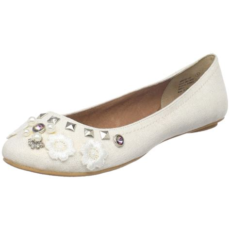 Monkey Luxury Heels by Monkey Womens Whiz Kid Ballet Flat In White Lyst