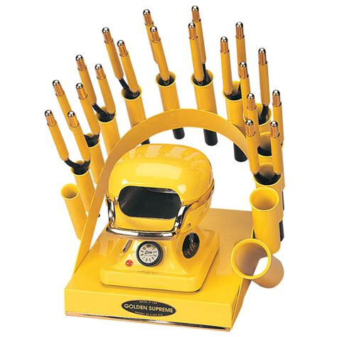 artemia golden supreme plus 50 rainbow deal stand stove 10 irons yellow