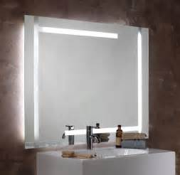 lighted bathroom mirrors seura studio lumination lighted mirror
