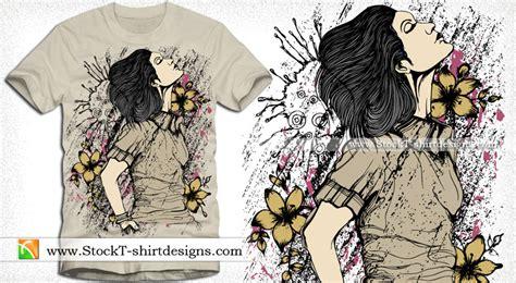 Tshirt Kaos Map Of World beautiful with flower vector t shirt design vector