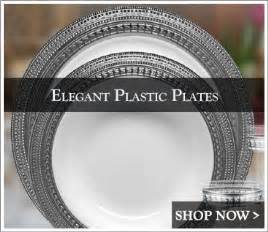 nice paper plates for wedding