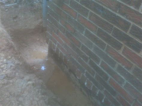 leaking basement floor basement leaking at floor wall joint on inside