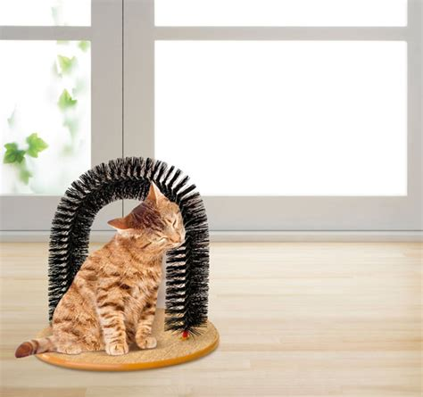 Mainan Kucing Cat Teaser Catnip purrfect arch groom for cat mainan kucing