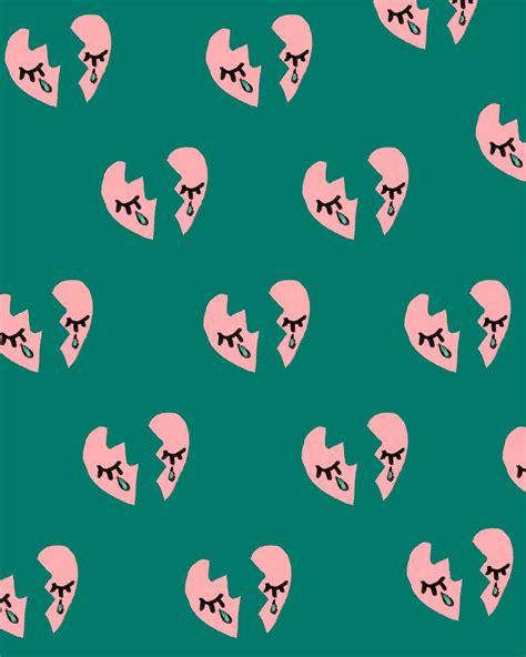 cute pattern tumblr themes bouffantsandbrokenhearts broken hearts