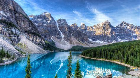 imagenes de paisajes reales lago moraine parque nacional banff alberta canad 225