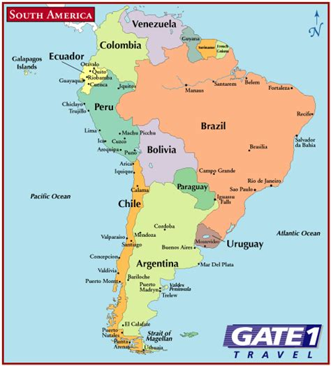 south america map and central america obryadii00 political map of central america and south america