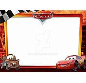 Frame Cars3 Horizontal 15x21 By Zaphiroth On DeviantArt