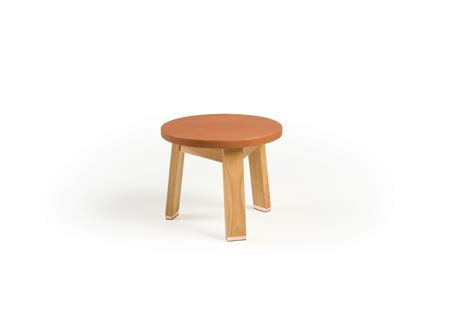 Seating Stool by 441s Stool Upholstered