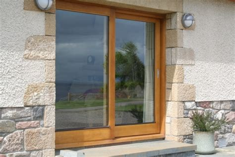 Oak Patio Doors Bespoke Timber Patio Doors From Treecraft Woodwork Scotland Uk