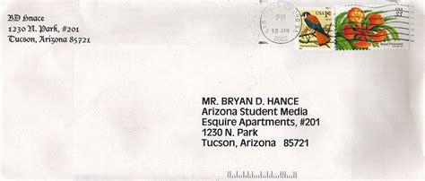 front of a letter format letter jan 15 2001